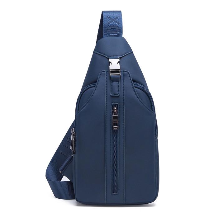 Foto Produk Luminox Tas Selempang Waterproof Sling Bag Travel Tas Pria Tas Wanita - Biru dari Bag Solution