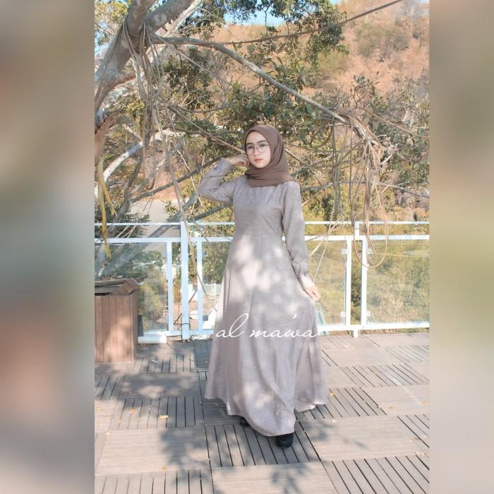 Foto Produk gamis umbrella katun madina dari al-ma'wa