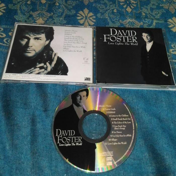 Jual David Foster Love Lights The World Made In Japan Kota Tangerang Selatan A To Z Music Tokopedia