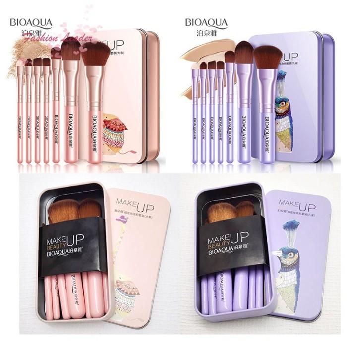 Jual Fl Bioaqua 7pcs Set Brush Kosmetik