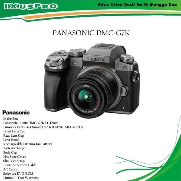 harga Panasonic dmc-g7k kit 14-24mm kamera mirrorless Tokopedia.com