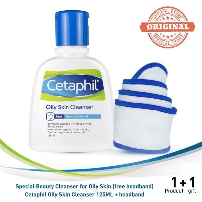 Foto Produk Cetaphil Special Beauty Cleanser for Oily Skin [Free Headband] dari Cetaphil Indonesia