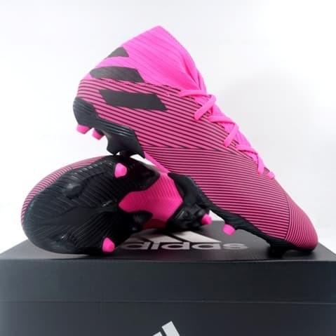 Promo Sepatu Bola Adidas Nemeziz 19 3 Fg Shopink Black F34388