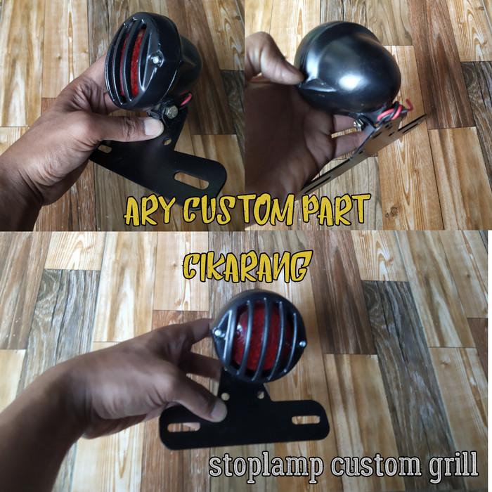 harga Lampu belakang stoplamp custom japstyle grill putar Tokopedia.com