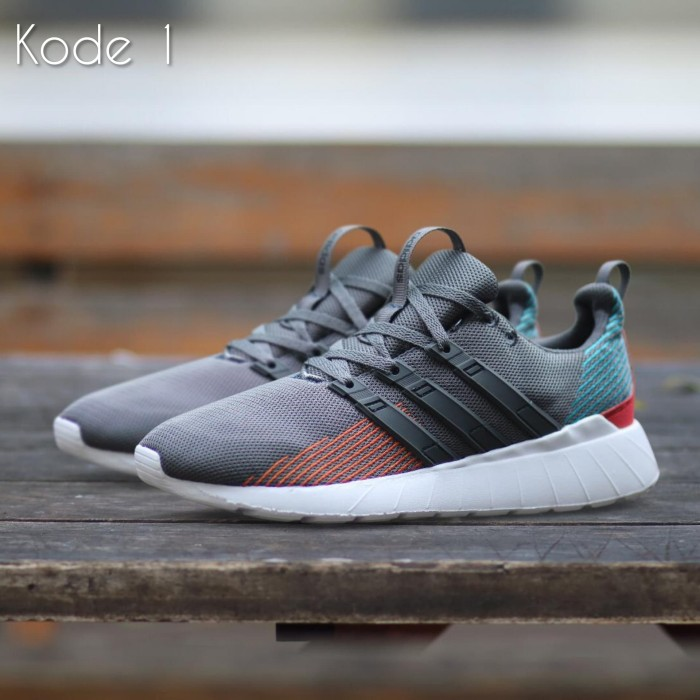 Foto Produk Sepatu Casual Pria Sporty Santai Gaya Kuliah Adidas Slip on Import dari Bandung Footwear Store