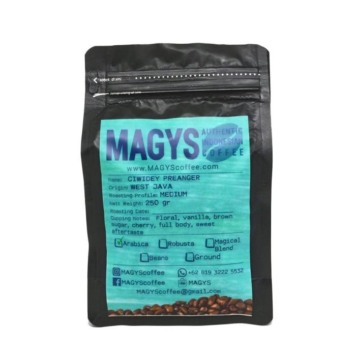 Foto Produk Kopi Arabica Ciwidey Preanger 250 gr, biji/bubuk dari MAGYS