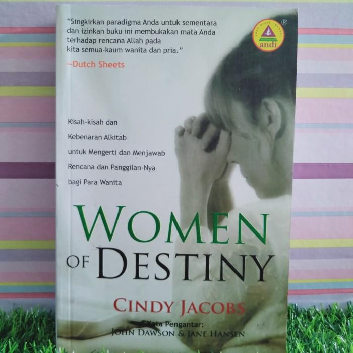 Jual Women of destiny Cindy Jacobs - Kab  Kuningan - Nusantara Books 2 |  Tokopedia