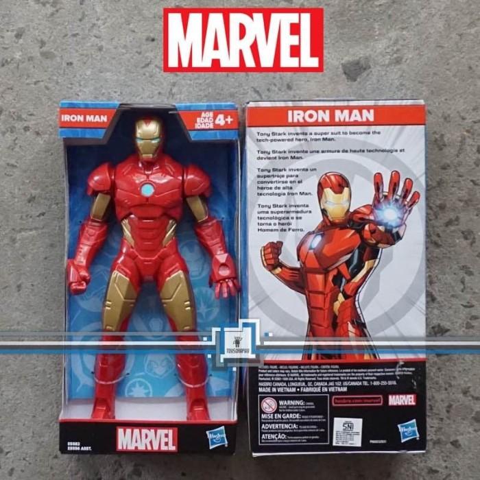 "Foto Produk IRON MAN 9"" Action Figure Marvel Avengers - HASBRO Ironman ORI mainan dari Toysgraphy"