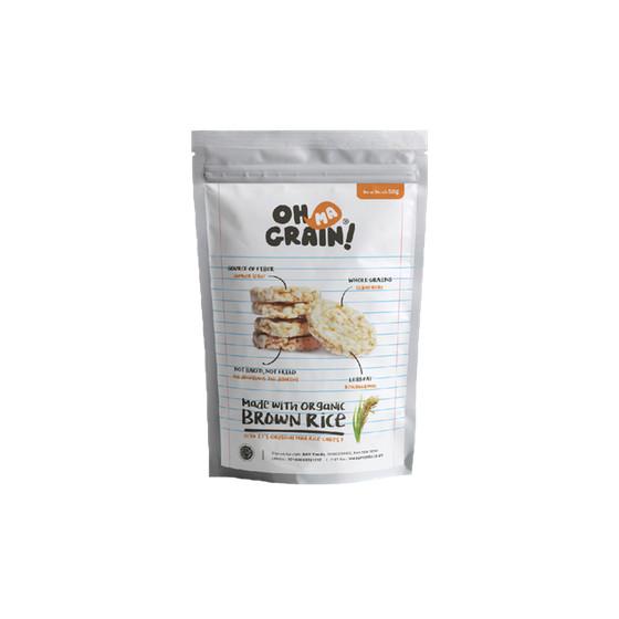 Foto Produk Oh Ma Grain! Keripik Beras Original 50 Gram dari Karuna Holistic Wellness