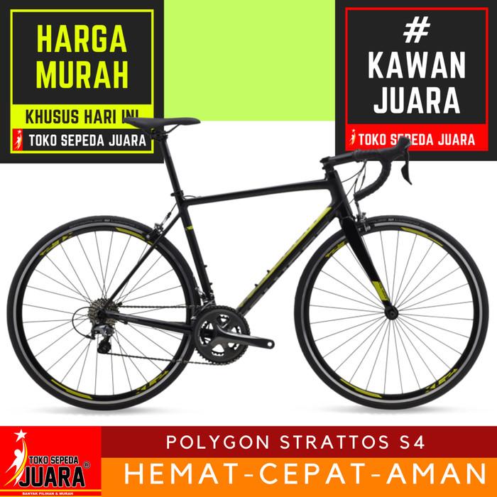 harga Sepeda polygon strattos s4 roadbike 700c alloy shimano tiagra Tokopedia.com
