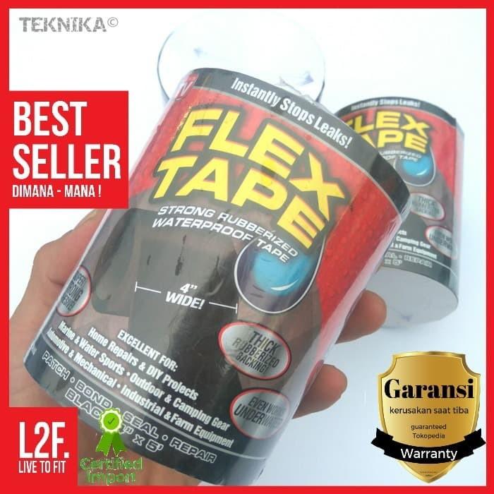 Foto Produk FLEX TAPE / Lakban Anti Bocor / Isolasi Perekat Super Kuat Waterproof dari Live to Fit Indonesia