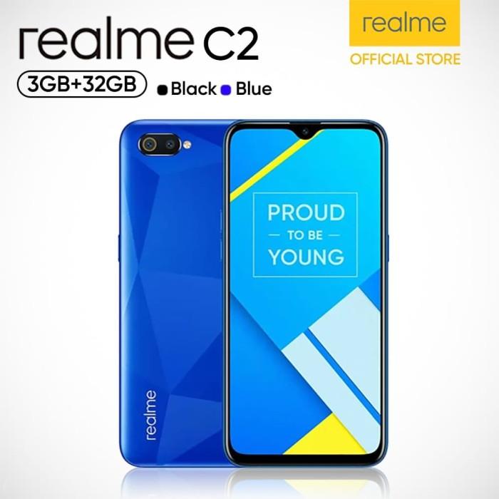 harga Realme c2 [3gb/32gb] garansi resmi - biru Tokopedia.com
