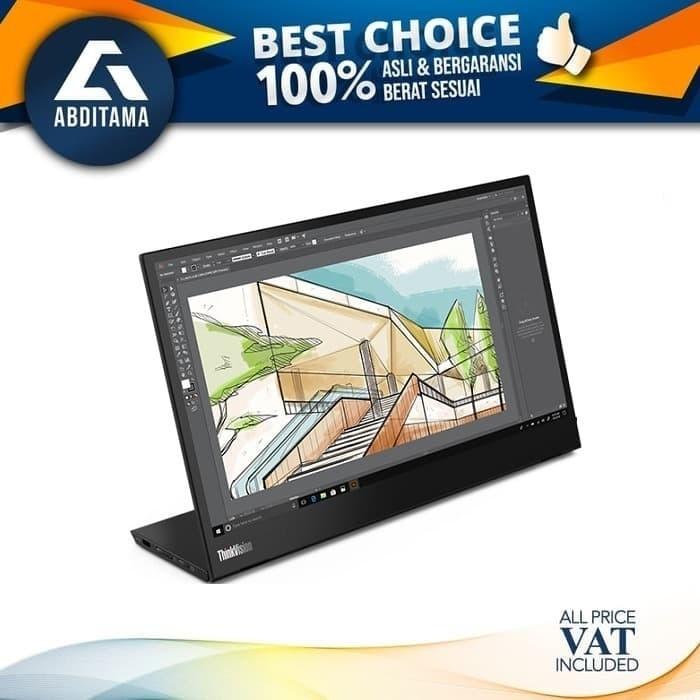 harga Monitor led mobile lenovo thinkvision m14 14  1920x1080 ips type-c Tokopedia.com