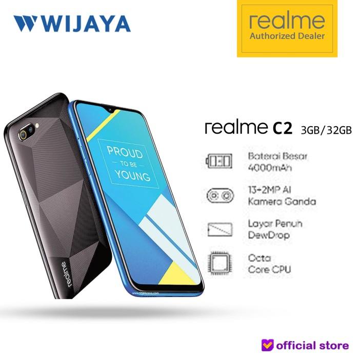 harga Realme c2 2019 ram 3gb internal 32gb | garansi resmi Tokopedia.com