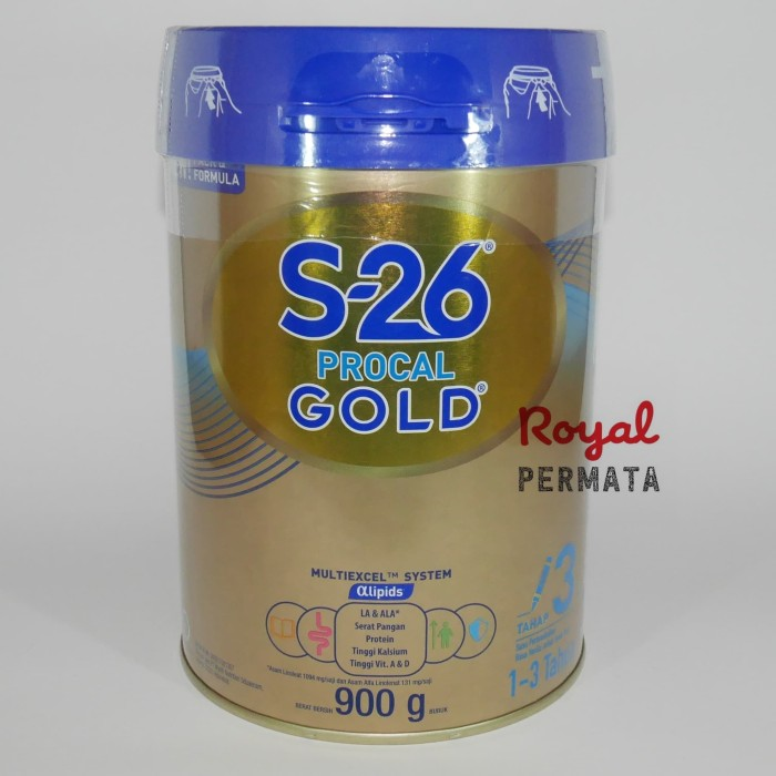 Foto Produk S-26 PROCAL GOLD CAN 900gr dari RoyalPermata
