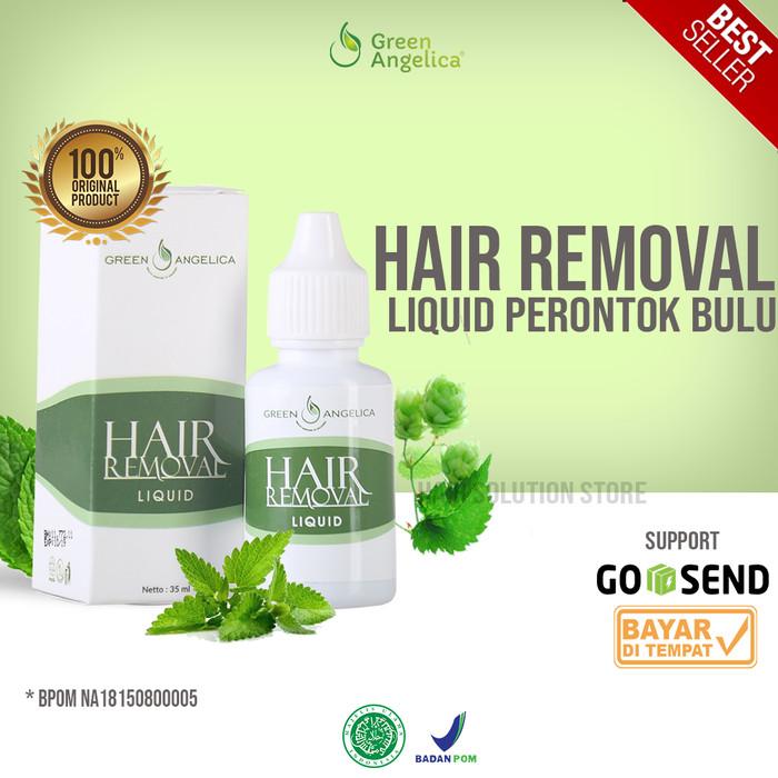 Foto Produk Hair Removal Perontok Bulu Permanen - Green Angelica dari Hair Solution Store