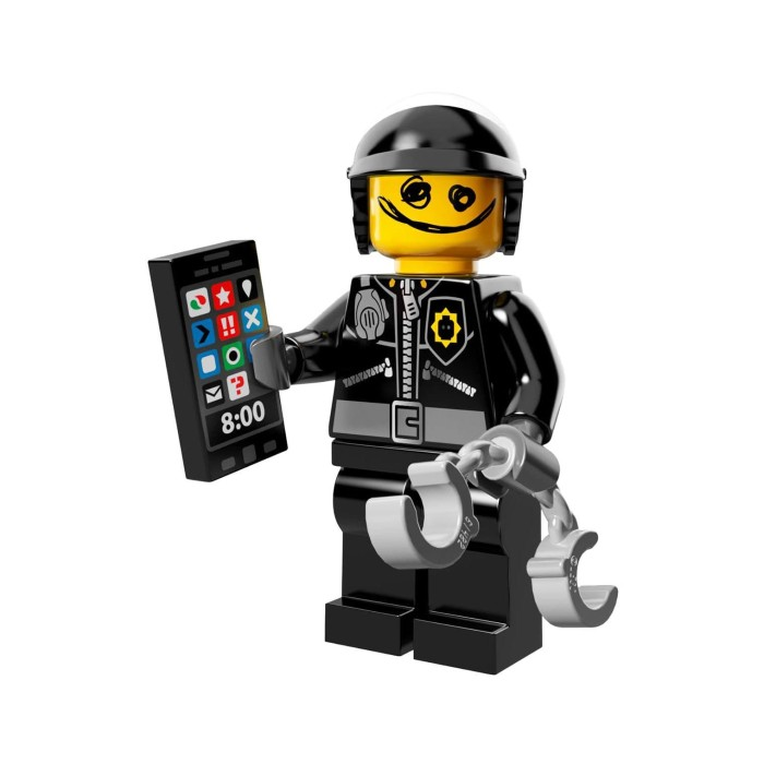 NEW LEGO COLLECTIBLE MINIFIGURE The Scribble-Face Bad Cop THE LEGO MOVIE