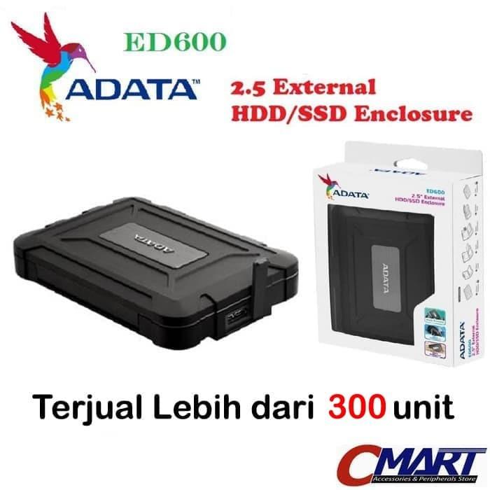 "Foto Produk Adata ED600 Casing Hardisk External HDD Case 2.5"" USB 3.0 - AED600U31C dari CMart Computer"