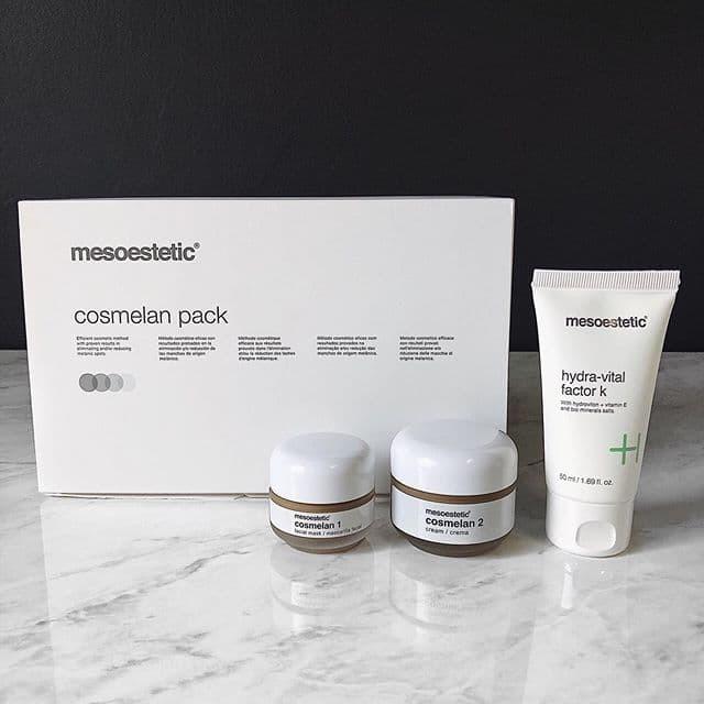 Foto Produk Cosmelan Pack Anti Aging / kerut Pemutih Wajah anti acne / jerawat dari Panava