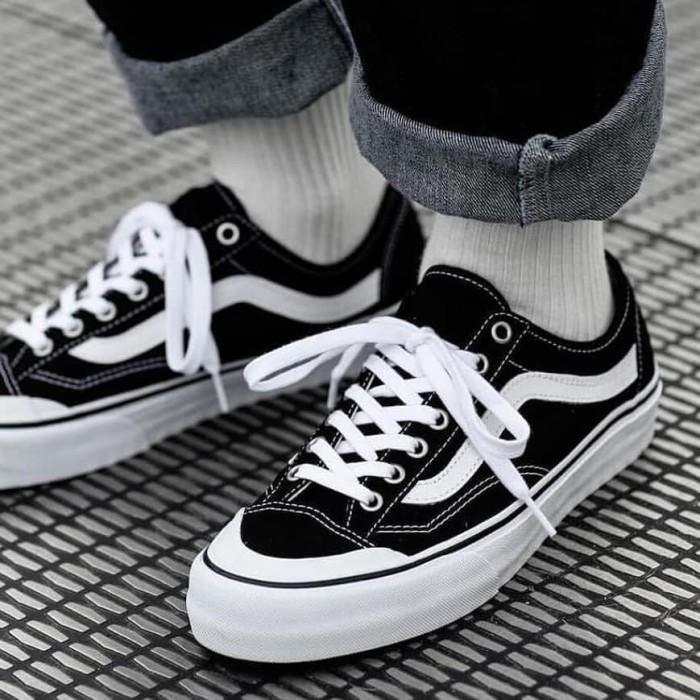 Jual [Legit] size 46 12 us Vans Style 36 Decon SF black white solekapal Jakarta Barat lemakjantan x solesepatu   Tokopedia