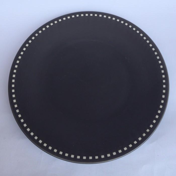 Foto Produk Piring Saji Motif lingkar-b|Piring Hias |Ekspor Murah|Dinner Plate HN dari GALAXY HouseholdCeramics
