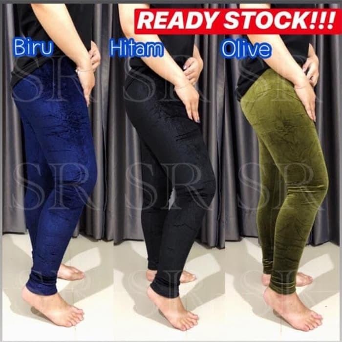 Jual Legging Celana Legging Ready Stock Legging Bludru Polos Import Jakarta Barat Adly Fashion Tokopedia