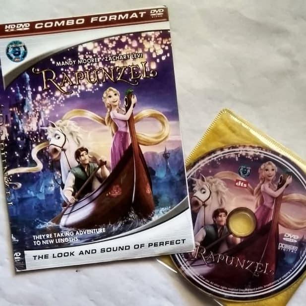 Foto Produk KASET DVD FILM ANIMASI ANAK - RAPUNZEL 3 dari FRIENDSTOREEE