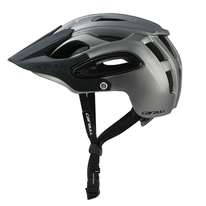 Foto Produk Cairbull 07 Helm Sepeda Am Enduro Bike Helmet - Abu M Unit Paling Laku dari CettaBaik mulia