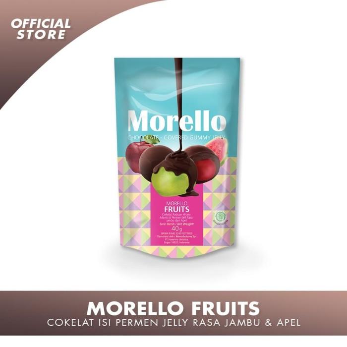 Foto Produk MORELLO FRUITS Cokelat Isi Permen Jelly dari IUOfficialStore