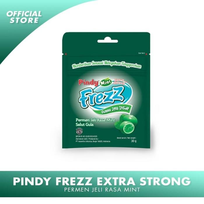 Foto Produk PINDY FREZZ EXTRA STRONG Permen Jelly Rasa Mint dari IUOfficialStore