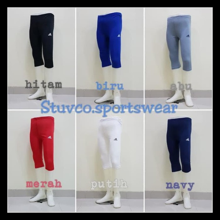 Jual Celana Baselayer Adidas 3 4 Legging Leging Wanita Pria Futsal Olahraga Kab Semarang Bobbitoko1 Tokopedia