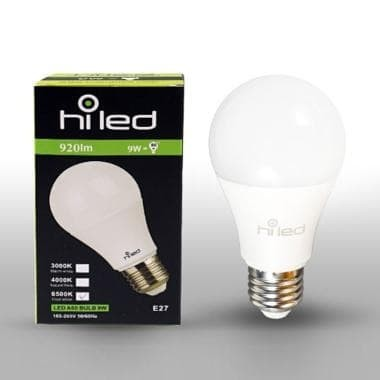 harga Hiled bulb led 9 watt 4000 k lampu led bulb hiled 9 watt 9 wat 9 w Tokopedia.com