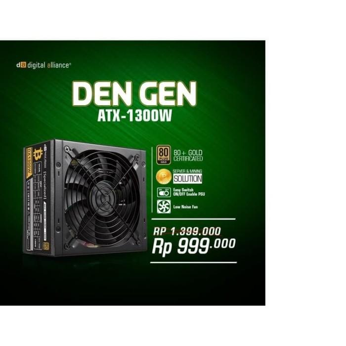 harga Digital alliance psu gaming 1300 watt 80+ gold btc Tokopedia.com