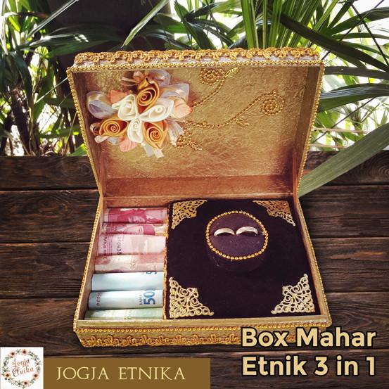 Foto Produk Box Mahar Pernikahan / Tempat Perhiasan dari Jogja Etnika
