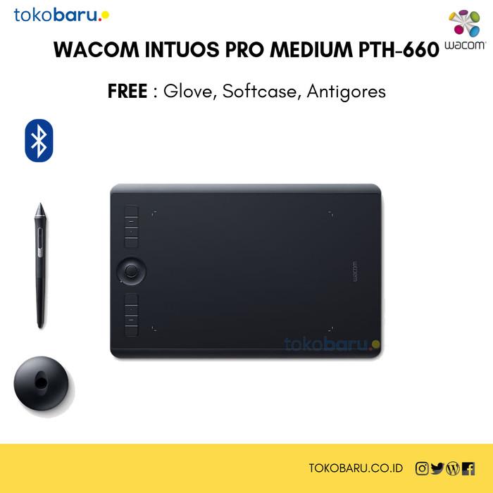 harga New wacom intuos pro medium garansi resmi free anti gores gloves&case Tokopedia.com