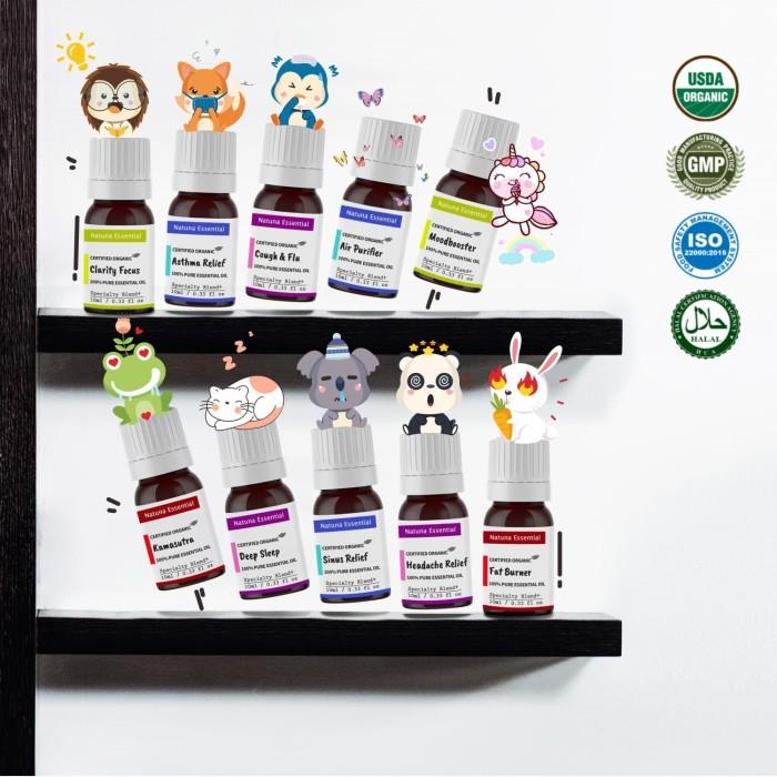 Jual Natuna Blend Essential Baby Oil Therapeutic Grade Makanan