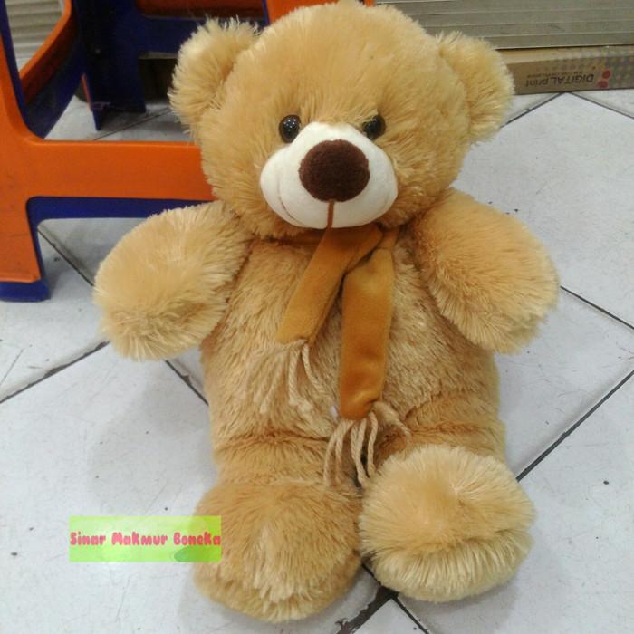 harga Bear brown with syal cute Tokopedia.com