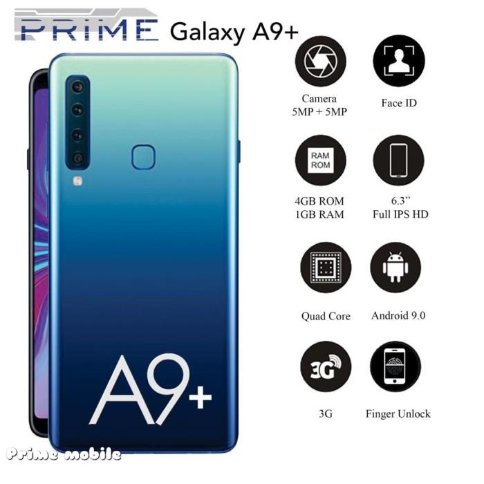 Foto Produk HP PRIME GALAXY A9 PLUS - 3G - LAYAR 6.3 INCH INFINITY-V DISPLAY dari Prime Mobile