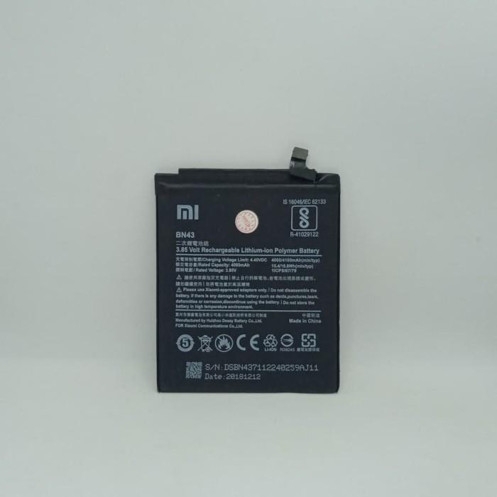 Foto Produk Baterai Batre Battery Original Xiaomi Redmi Note 4X BN43 dari Putinshop