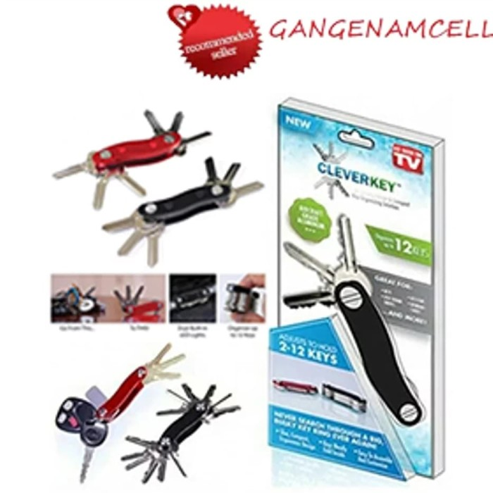 Foto Produk Clever Key As Seen TV Smart Holder Organizer Kunci Lipat Gantungan New dari Gangenamcell