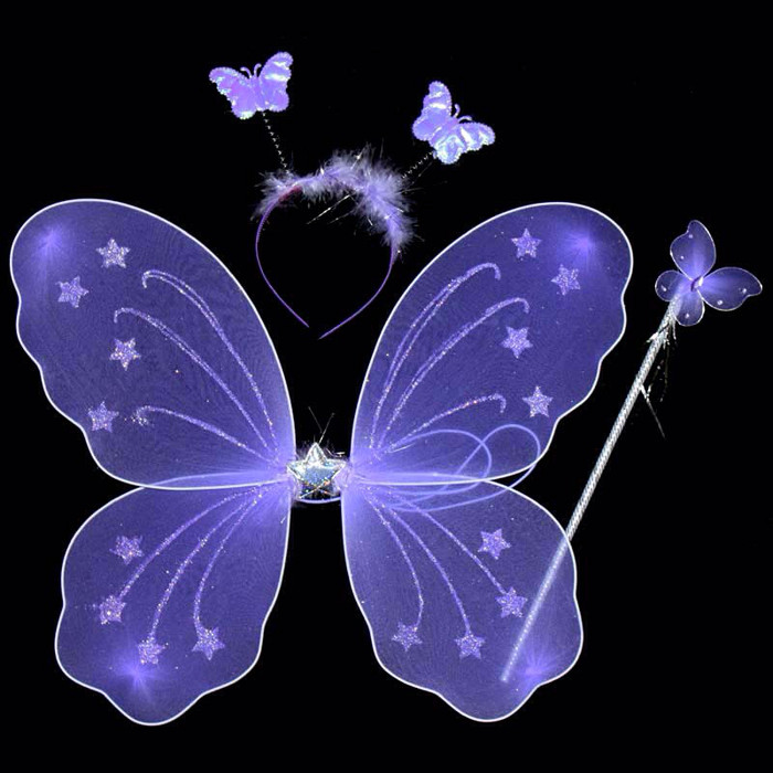 Foto Produk sayap peri mainan / sayap kupu kupu LED dari BENS kosmetik