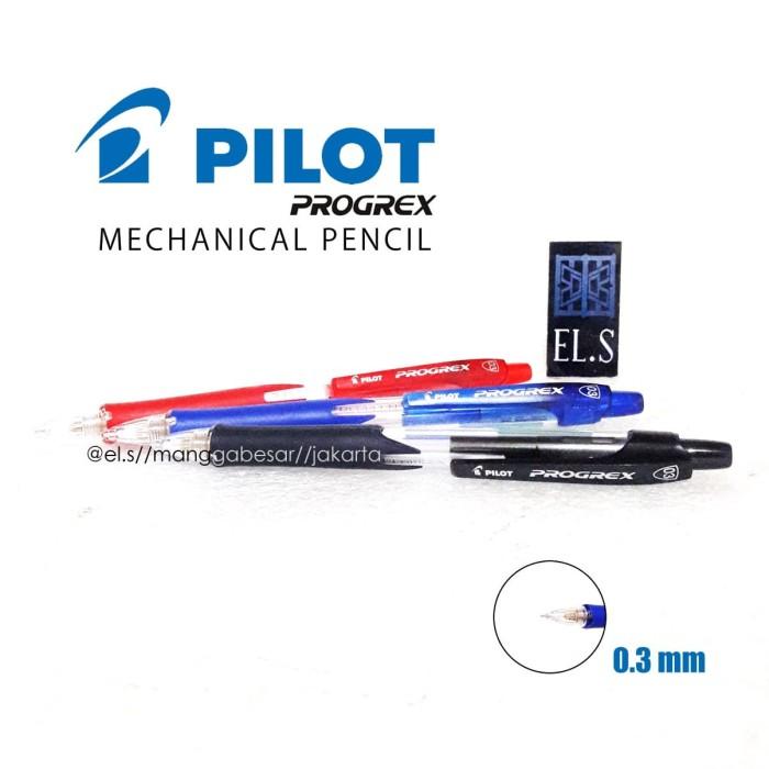 Foto Produk Pilot Progrex 0.3 Mechanical Pencil (Pensil Mekanik 0.3) dari eLs_shop