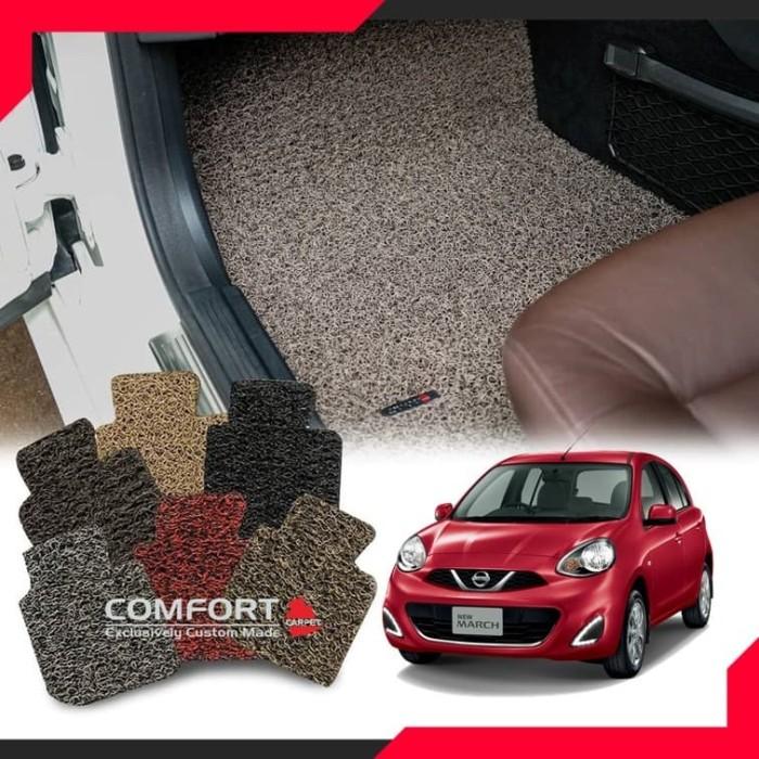 Foto Produk KARPET COMFORT DELUXE  Nissan March (KABIN+BAGASI) dari RUMAH JOK DCARZ