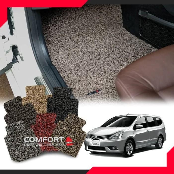 Foto Produk Karpet Mobil Comfort Deluxe NISSAN LIVINA 2019 Full Baris + Bagasi dari RUMAH JOK DCARZ