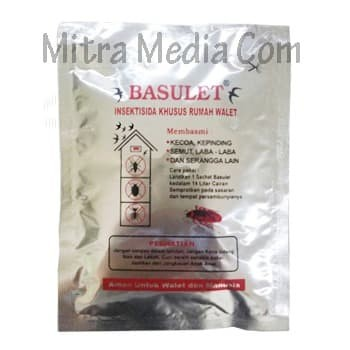 Foto Produk BASULET OBAT PEMBASMI HAMA WALET dari Mitra Media Com