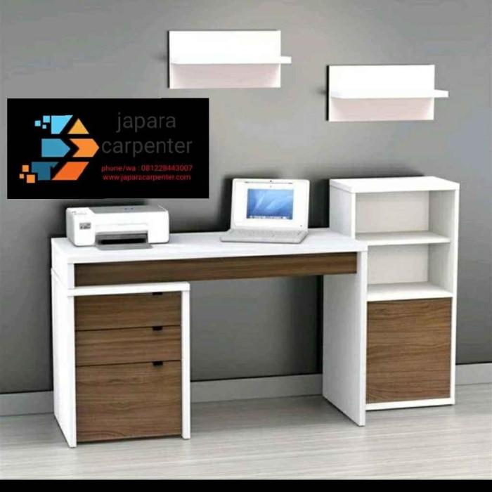 Jual Meja Belajar Minimalis Modern Terbaru Kab Jepara Japara Carpenter Tokopedia