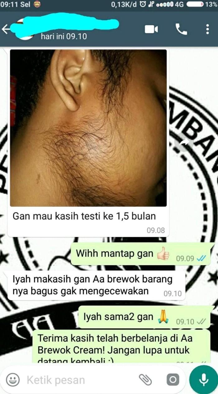 Jual Aa Brewok Cream Penumbuh Jambang Jakarta Barat Izayastore280