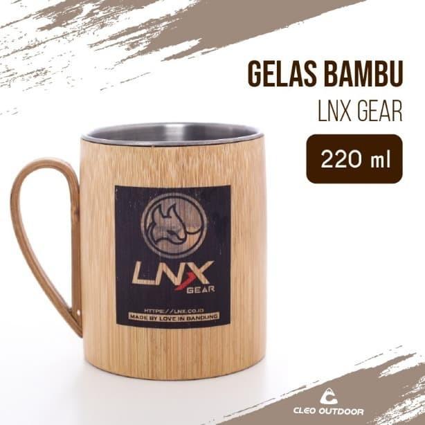 Foto Produk Gelas Stainless Bambu LNX Gear dari Cleo Outdoor Adventure