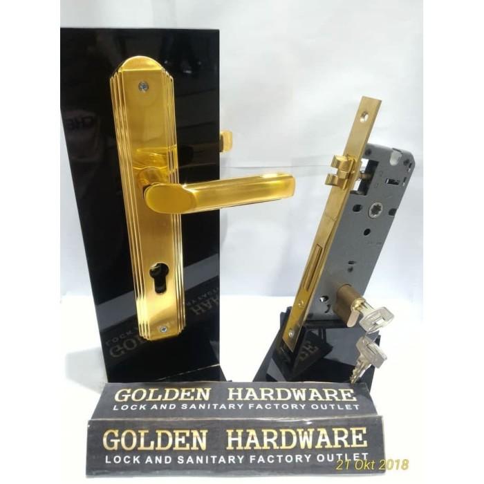 Jual Handle Gagang Kunci Pintu Set Paloma Hpp559 Mlp321 Clp303 Kota Semarang Golden Hardware Semarang Tokopedia