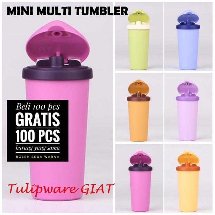 Foto Produk Tumbler Anti Bocor / Tempat Minum Imut / Mini Multi Tumber Tulipware dari TULIPWARE collection